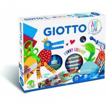 GIOTTO ART 28 PCS LAB FUNNY COLLAGE Fila GIOCATTOLI