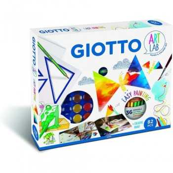 GIOTTO ART LAB 82 PCS EASY PAINTING Fila GIOCATTOLI