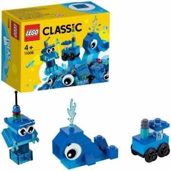 LEGO CLASSIC MATTONCINI BLU CREATIVI 11006 LEGO GIOCATTOLI