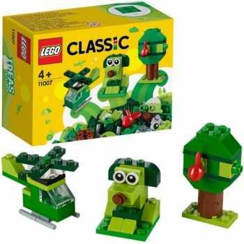 LEGO CLASSIC MATTONCINI VERDI CREATIVI 11007 LEGO GIOCATTOLI