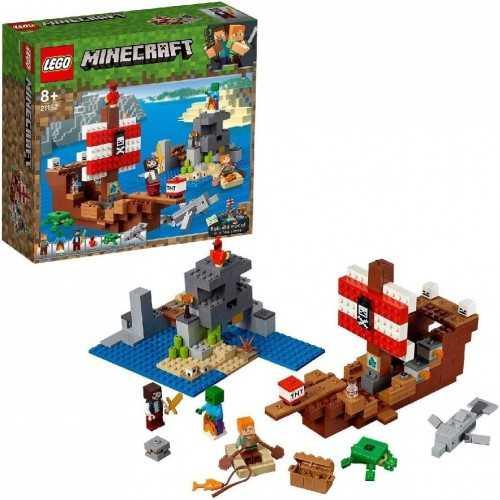 LEGO MINECRAFT AVVENTURA GALEONE DEI PIRATI CF1 LEGO GIOCATTOLI