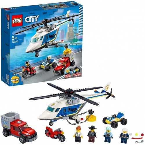 60243 CITY Inseguimento sull elicottero della polizia LEGO GIOCATTOLI