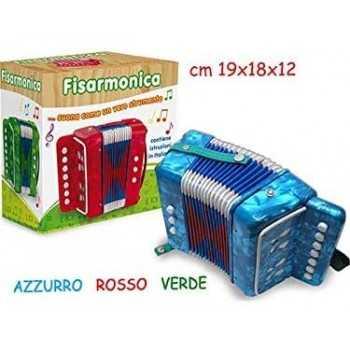 FATTO DI LEGNO - FISARMONICA 3 COL 7 CHIAVI CM 18 TEOREMA GIOCATTOLI