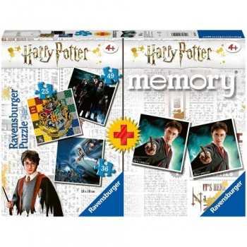 Ravensburger MULTIPACK Harry Potter 3 puzzle + gioco memory GIOCATTOLI