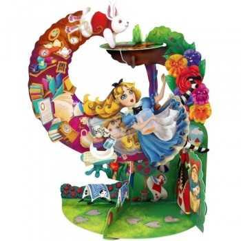 GIFT CARD Alice in Wonderland SANTORO EDIGLAM ARTICOLI DA REGALO