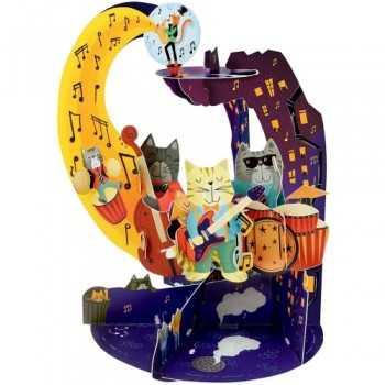 GIFT CARD Jazz Cats SANTORO EDIGLAM ARTICOLI DA REGALO