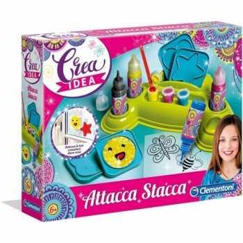 CREA IDEA - GLI ATTACCA STACCA Clementoni BAMBINA
