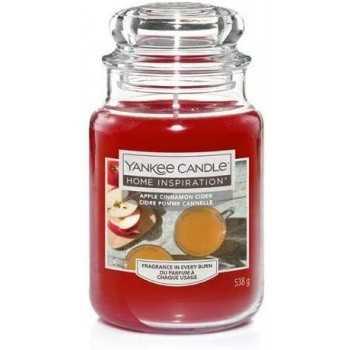 APPLE CINNAMON CIDER LARGE JAR YANKEE CANDLE YANKEE CANDLE CANDELE