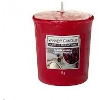 CHERRY VANILLA VOTIVE YANKEE CANDLE YANKEE CANDLE CANDELE