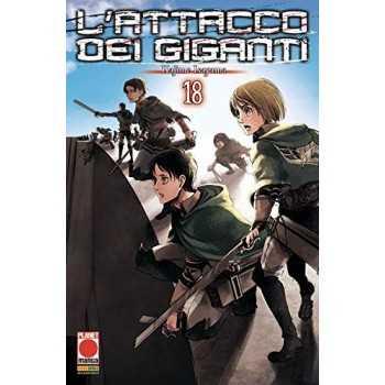 Attacco Dei Giganti (L'). Vol. 18 EDIZIONI STAR COMICS LIBRI