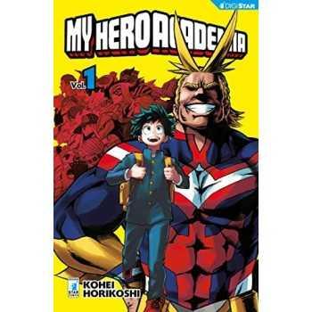 My Hero Academia. Vol 1 EDIZIONI STAR COMICS LIBRI