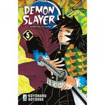 DEMON SLAYER - KIMETSU NO YAIBA 5 EDIZIONI STAR COMICS LIBRI