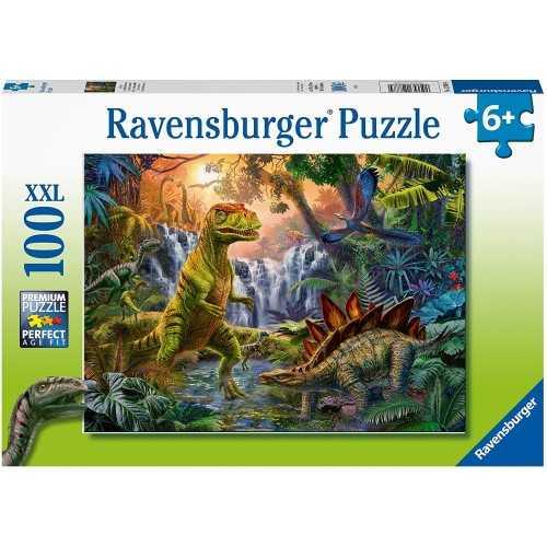 L'oasi dei dinosauri 100 PZ XXL RAVENSBURGER Ravensburger GIOCATTOLI