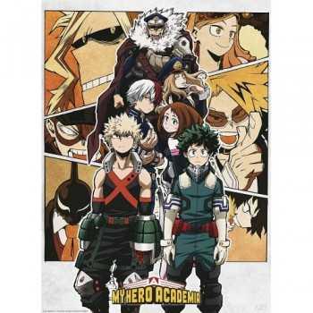 """MY HERO ACADEMIA - Poster """"Group"""" (52x38) ABYSTYLE ARTICOLI DA REGALO"""