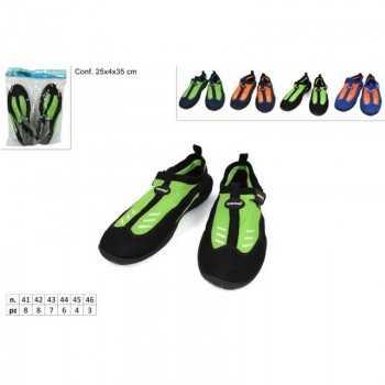 aqua shoes uomo fluo 41-46 col ass(F1.75) ESTIVO