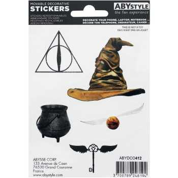 HARRY POTTER - Stickers - 16x11cm/ 2 planches - Magical ABYSTYLE HARRY POTTER