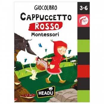 Giocolibro Cappuccetto Rosso Montessori HEADU EDUCATIVI