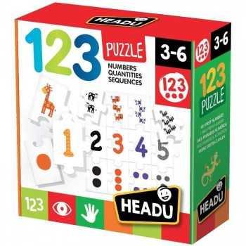 123 Puzzle HEADU EDUCATIVI