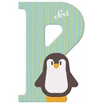 Lettera P Pinguino