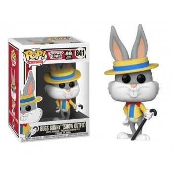 Looney Tunes: Bugs Bunny 80Th - 841 Bugs Bunny (Show Outfit) 9Cm (Pop!) FUNKO POP! GIOCATTOLI