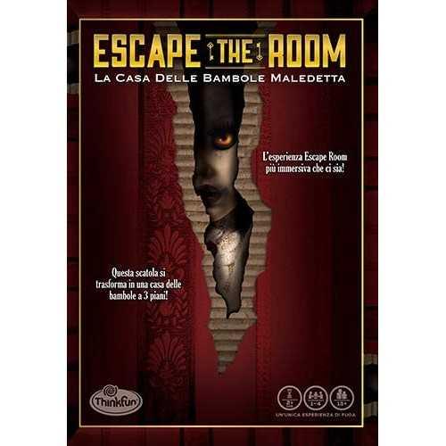 TF Escape the Room Doll Ravensburger GIOCHI DI SOCIETA'