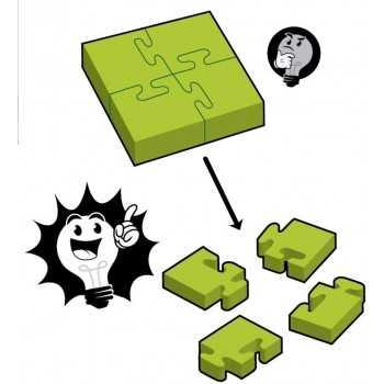 TF A -Ha! 4-Piece Jigsaw