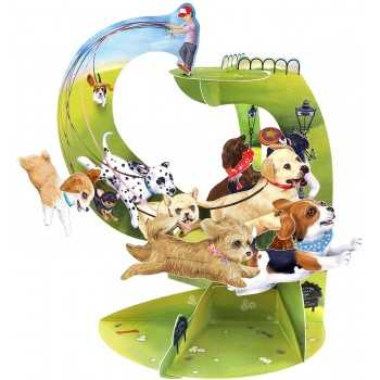GIFT CARD Runaway Puppies SANTORO EDIGLAM ARTICOLI DA REGALO