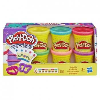 PLAY-DOH SPARKLE COMPOUND COLLECTION HASBRO UNISEX