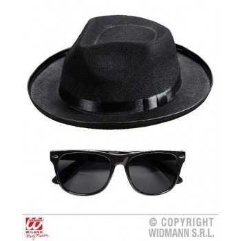 BLUES MAN (cappello, occhiali)