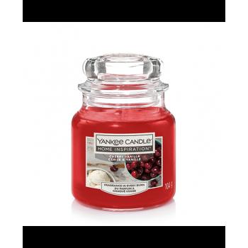 CHERRY VANILLA SMALL JAR YANKEE CANDLE YANKEE CANDLE CANDELE
