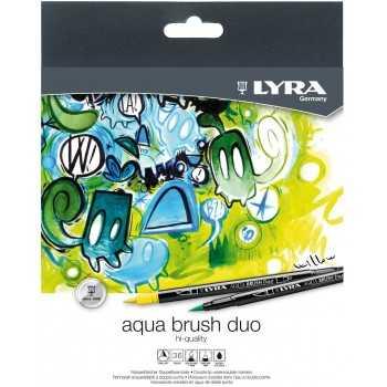 Aqua brush duo scatola da 36