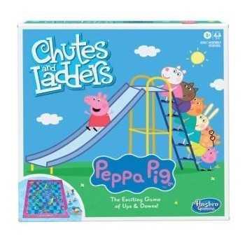 CHUTES AND LADDERS PEPPA PIG
