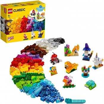 LEGO CLASSIC MATTONCINI TRASPARENTI CREATIVI 11013 LEGO LEGO