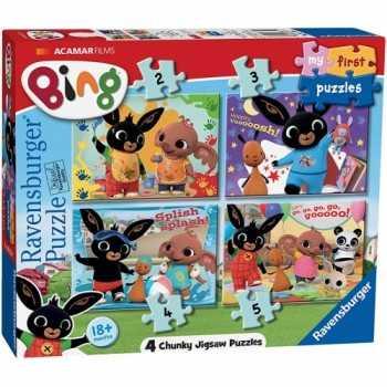 Bing Bunny A My first puzzle 18m+ ravensburger progressivi PUZZLE
