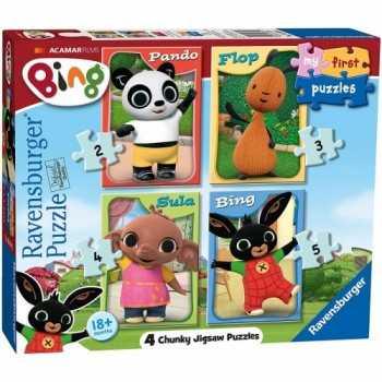 Bing Bunny B My First puzzle ravensburger progressivi PUZZLE