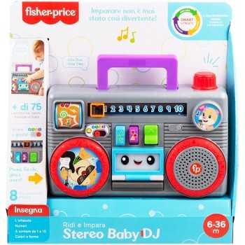 Stereo Baby DJ Fisher-Price PRIMA INFANZIA