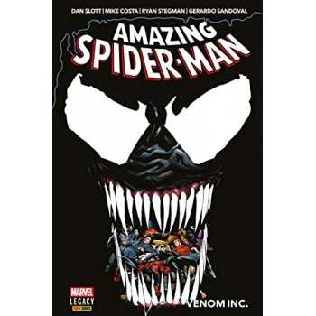 AMAZING SPIDER-MAN - VENOM INC. PANINI COMICS FUMETTI