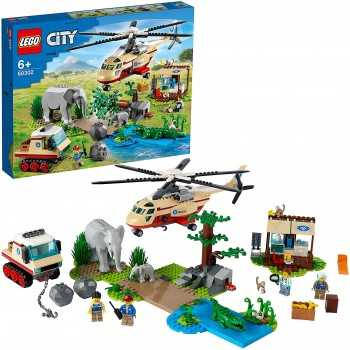 60302 CITY OPERAZIONE DI SOCCORSO ANIMALE LEGO LEGO LEGO