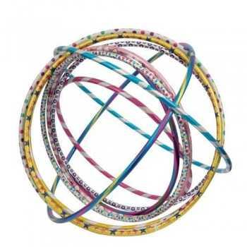 PLAY-OUT - Hula Hoop Glitterati 4 Misure 6 Colori GIOCHERIA SPA UNISEX