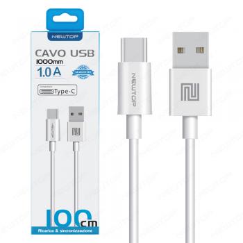 NEWTOP CAVO BASIC TYPE -C 100 cm NEWTOP CAVI SMARTPHONE