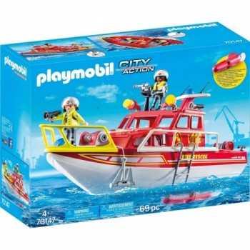 Barca dei Vigili del Fuoco PLAYMOBIL