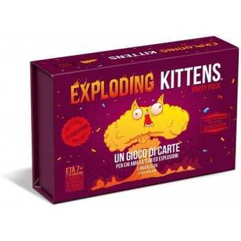 Exploding Kittens Party Pack ASMODEE GIOCHI DI SOCIETA'
