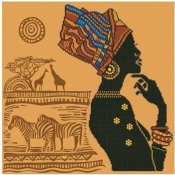 DIAMOND DOTZ - AFRICAN ELEGANCE CREATIVI