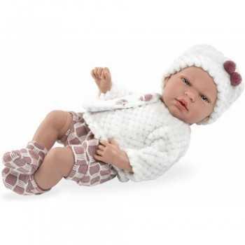 ARIAS - Dolce Bebè cm.40 con Sonaglio e Ciuccio GIOCHERIA SPA BAMBINA