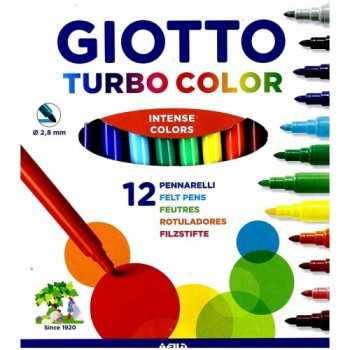 turbo color giotto 12 pennarelli Fila PENNE-PENNARELLI-MATITE