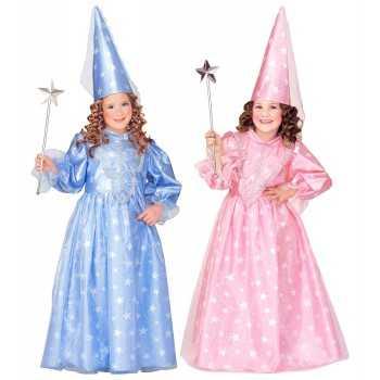 """""""FATINA MAGICA"""" ass. rosa e azzurro (vestito, cappello con velo) 4/5 ANNI WIDMANN COSTUMI"""