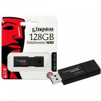 MEM USB 128 Gb KINGSTON DT100 USB 3.0 KINGSTON USB