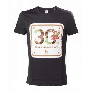 Nintendo Mario 30 th Anniversary T-Shirt nera M (Abbigliamento) BIOWORLD T SHIRT