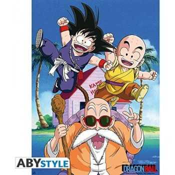 """DRAGON BALL - Poster """"DB/ Kame Team"""" (52x38) ABYSTYLE GADGET"""