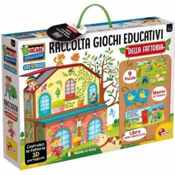 LIFE SKILLS RACCOLTA GIOCHI EDUCATIVI LA FATTORIA LISCIANI GIOCHI EDUCATIVI